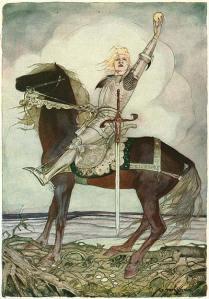 Knight on horse tengrim04